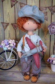 Super Quilting For Boys Babies Clothes Ideas Tiny Dolls, Soft Dolls, Cute Dolls, Boy Quilts, Doll Quilt, Bear Doll, Doll Maker, Waldorf Dolls, Fabric Dolls