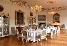 Schloss Berchtesgaden Großer Speisesaal