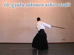 Aikido instruction: jo suburi 1 thru 20
