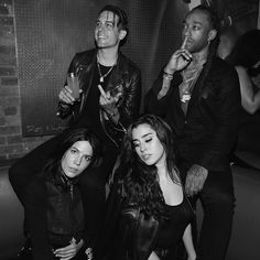 Lauren with Halsey, G-Eazy and Ty Dolla Sign