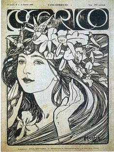 Alphonse Mucha Art 259, Print, Picture, Paintings
