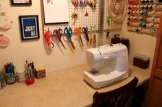 To relearn how to use a sewing machine and learn how to make things with it