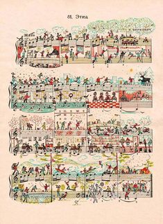 Sheet Music Art by Mike Lemanski
