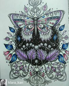 @Regrann from @klara_kan - A silver butterfly from #dagdrömmar by #hannakarlzon…