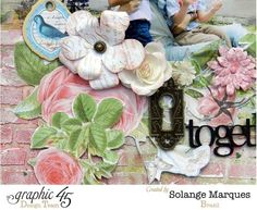 See more amazing details from Solange's Botanical Tea layout #graphic45