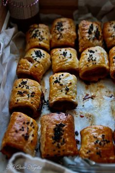 Char Siu Pork Sausage Rolls