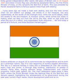 independence speech in hindi