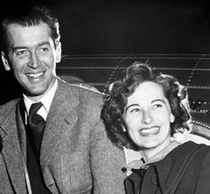 Jimmy and Gloria Stewart, 1949 my favorite Hollywood couple