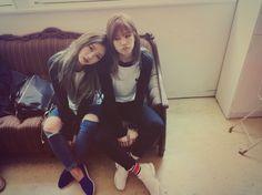 Chorong! With Bomi