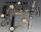 A SMALL COLLECTION OF WRISTWATCHES, to include two gentleman's 'Smith Empire' examples