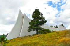 The chapel at the Vietnam Veterans Memorial State Park, Angel Fire, NM. (c) Richard Bauman