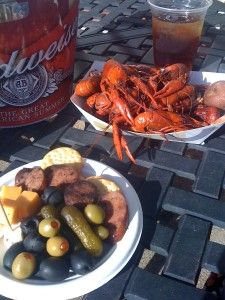Crawfish time in Tunica. Yum!