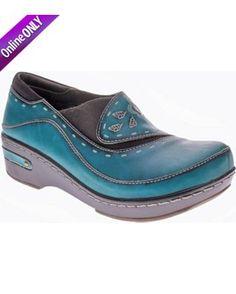Spring Step Womens L'Artiste Burbank Slip On Shoes