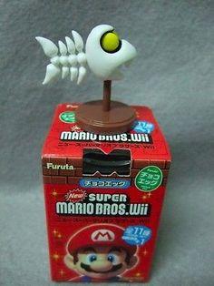 JAPAN Edition Toy  Nintendo SUPER MARIO Mini Figure Collection - FISHBONES
