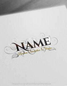 Design Free Logo: Vintage Roses Logo Templates | Free logo ...