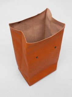 ANTIATOMS Antiatoms Leather Bag Roll Top