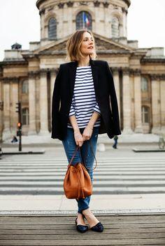 Classic Combo: Breton Stripes and Blazers