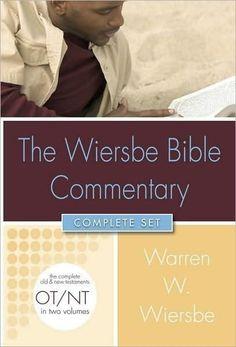 Wiersbe Bible Commentary-2 Volume