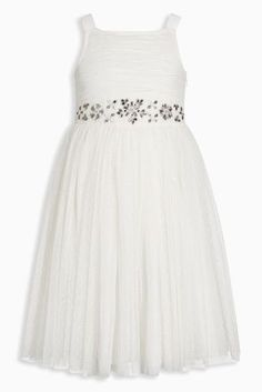 Ivory Jewel Bridesmaid Dress (3mths-16yrs)