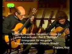Y.Kertsopoulos guitar-Small portrait 2010 on ET1 Greek TV-English SUBS