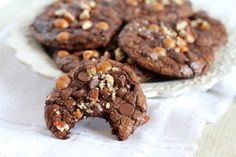 Fudgy Caramel Turtle Cookies | Tasty Kitchen: A Happy Recipe Community!