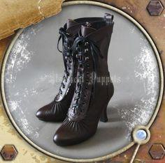 Classical Puppets | CLOBBAONLINE Steam Victorian Short Boots - CB1250902