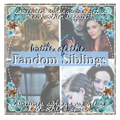 """""""&&;; Sometimes siblings can get in each other's space."""" by mikaelsonlegacy ❤ liked on Polyvore featuring art and WhatYouTrulyFear"""