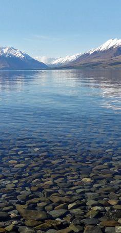 Ben Ohau - Ruataniwha Peak reflected in a pond near Lake Ohau, The South Island, New Zealand