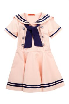Striped Sailor Dress - so cute!
