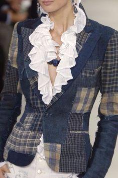 Fensajomon Mens Fringes Button Up Classic Checkered Shirts Pockets Short Sleeve Denim Work Western Shirt