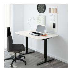 ikea desks and screens on pinterest bekant desk sit stand screen