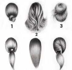 Learn To Draw A Realistic Rose - Drawing On Demand If you're struggling to draw hair, then these hair drawing tips may prove to be useful. Pencil Drawing Tutorials, Pencil Art Drawings, Cute Drawings, Art Tutorials, Drawing Sketches, Hair Drawings, Drawing Ideas, Sketching, Drawing Drawing