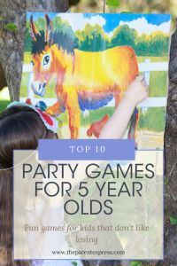 Fun games chosen specifically for young children that don't like losing | Top 10 Party Games for 5 year olds | The Parent Express