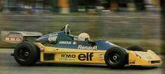 1977 Silverstone (Rene Arnoux) Martini Mk22 - Renault