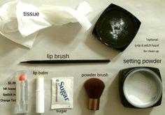 Make a $1.29 Lipstick Work Like a MAC in 8 Steps (exfoliate + balm + lip brush + set)