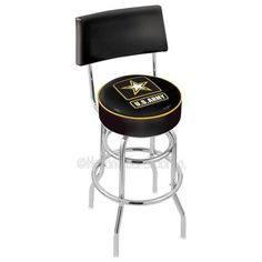 "Holland Bar Stool US Armed Forces 30"" Swivel Bar Stool Branch: Army"