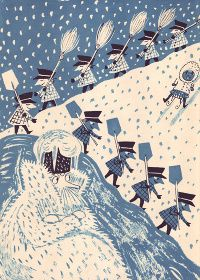 Beatrice Braun-Fock's - Old Man Winter Comes to Town