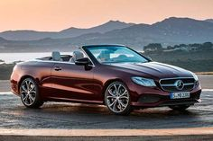 Mercedes Classe E Cabrio será lançado no Brasil ainda este ano