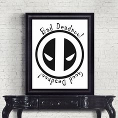 Deadpool Movie Printable Black and White Poster Gifts for Him Man Cave Gift Disney Cool Gift Gifts for Boyfriend Deadpool Print Deadpool Movie, Man Cave Gifts, Black And White Posters, Unique Presents, Typography Poster, Cool Gifts, Boyfriend Gifts, Gifts For Him, How To Memorize Things