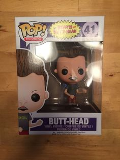 Funko POP! Television MTV Beavis And Butt-Head Butthead Vinyl Figure NIB RETIRED in Collectibles, Pinbacks, Bobbles, Lunchboxes, Bobbleheads, Nodders | eBay