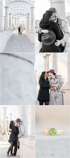 Downtown Asheville North Carolina Engagement Session