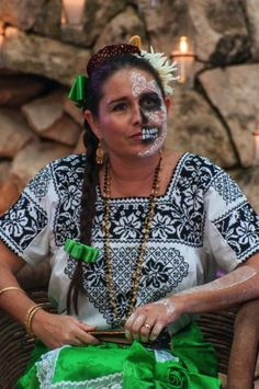 #FestivalVidayMuerte, Day of the Dead festival at Xcaret, Mexico