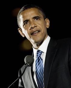 Obama ~ great speaker, motivational, focused, determined