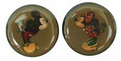 New in! Pair of vintage style Mickey Minnie Mouse Disney Character flesh plugs. Sizes 6mm - 25mm. One for each ear, get your cheeks kissed by these iconic cartoon characters. Starting from only £10 inc p+p for a pair. For sale now, only in our ebay store. Awesome doesn't come close!