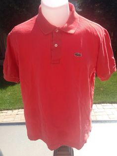 Vintage Peach Short Sleeve Lacoste Polo by MajorDivision on Etsy https://www.etsy.com/listing/238230029/vintage-peach-short-sleeve-lacoste-polo