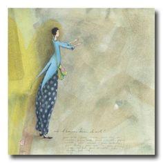 CARTES D'ART > BOISSONNARD Gaëlle > CARTES SIMPLES 14x14cm > BOISSONNARD Est-il toujours besoin de mots ? - e-mages - La carterie d art