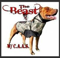 The Beast Hog Hunting Dog Vest