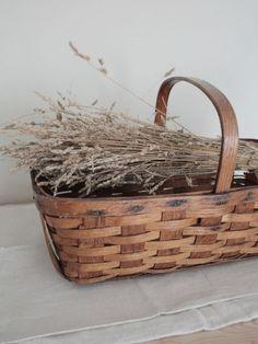 Farmhouse Baskets, Farmhouse Decor, Vintage Baskets, Fall Decor, Wicker, Conditioner, Wren, Buckets, Antiques