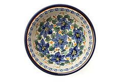 Blue Azalea bowl