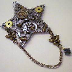 steampunk christmas ornaments -